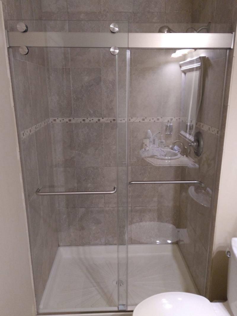 Duet Abc Shower Door And Mirror Corporation Serving