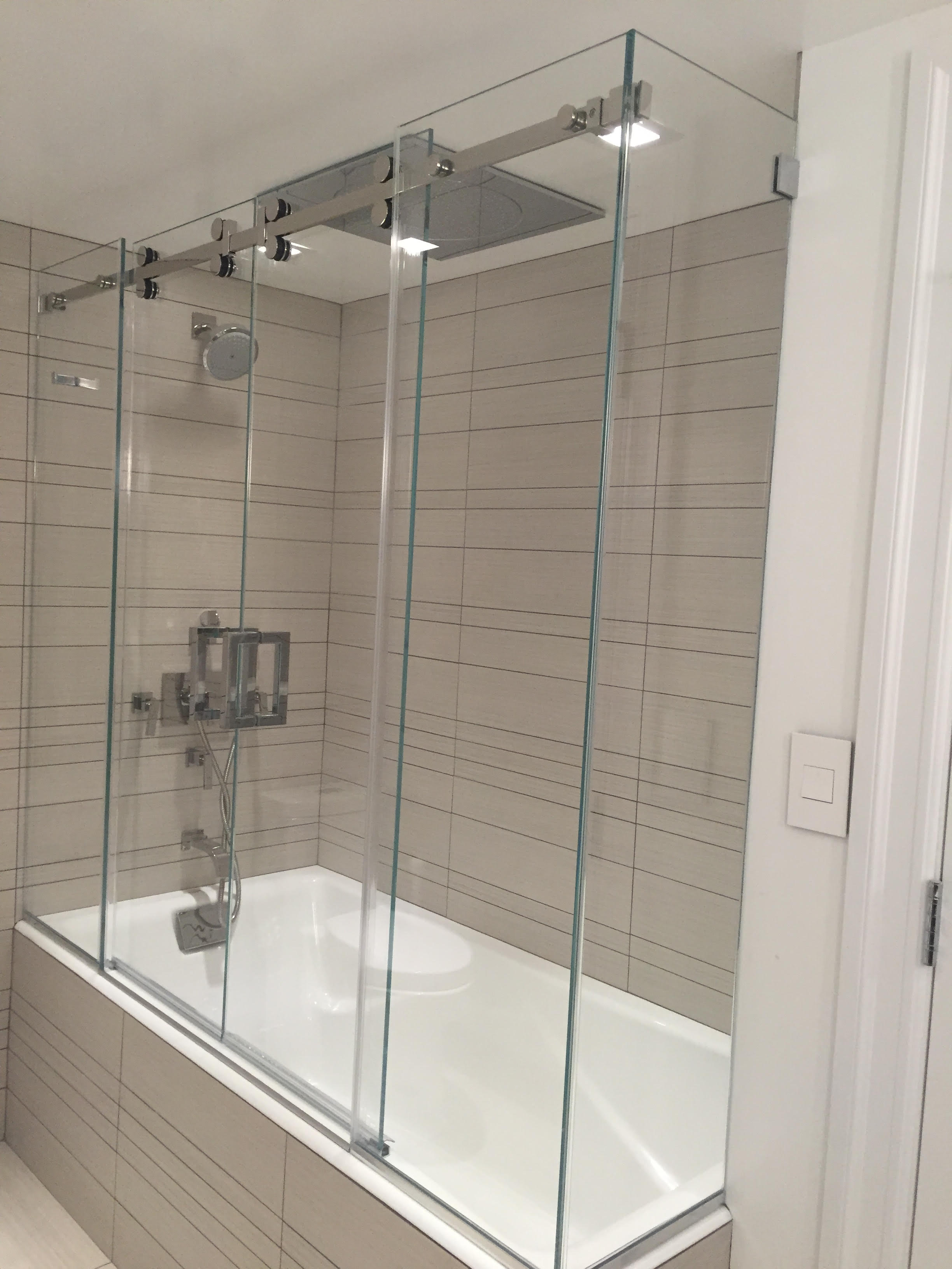 Shower Sliding Door Mm Glass