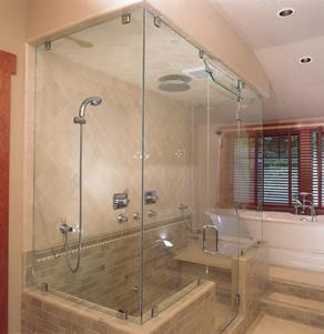 Corner Abc Shower Door And Mirror Corporation Serving