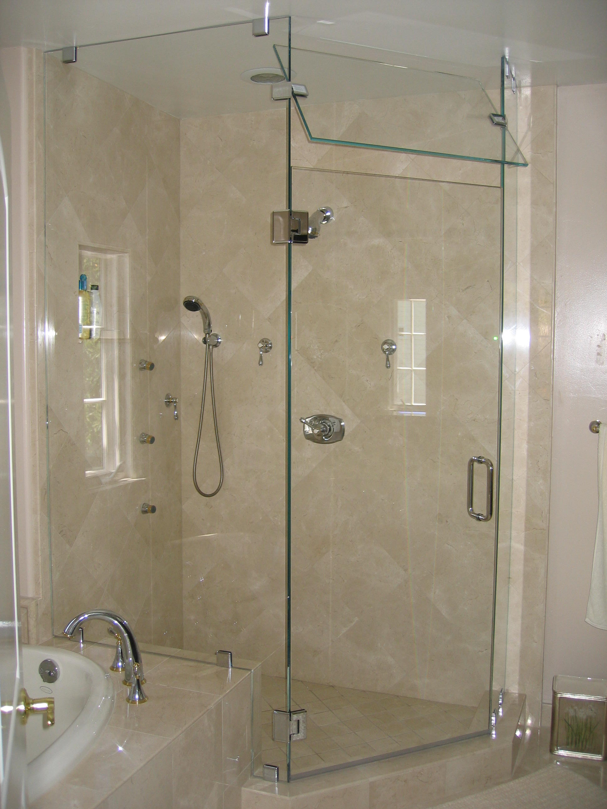 Neo Angle Abc Shower Door And Mirror Corporation