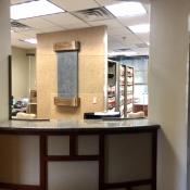 Dental Reception Area Partitions