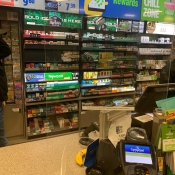 Convenience Store Sneeze Guards